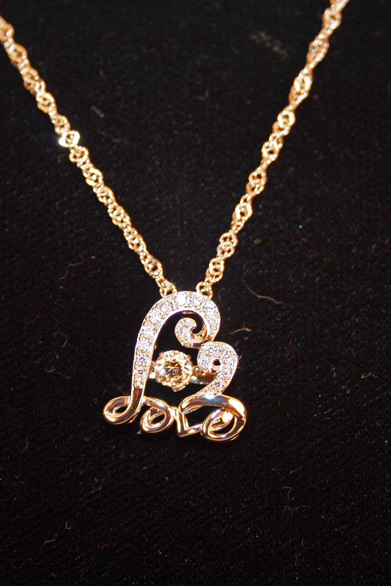 Enchanted Eternal Love Necklace