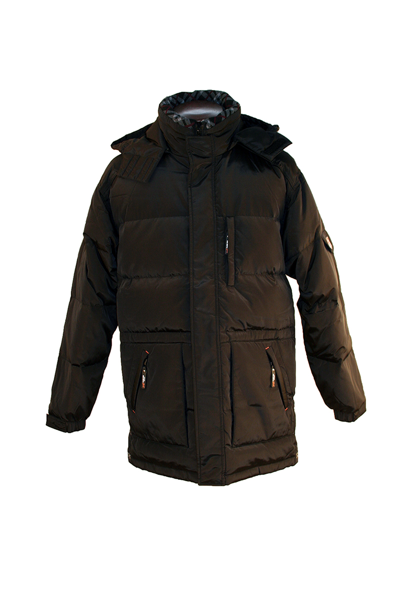 Hooded Wht Down Jacket
