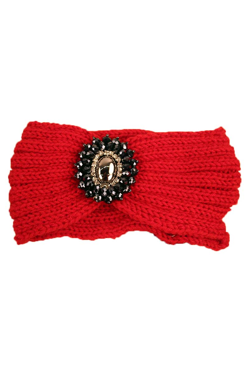 Headband With Beaded Pendant