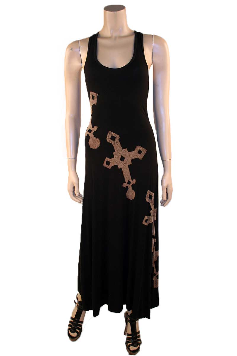 Direct Cross Dye Maxi Dress