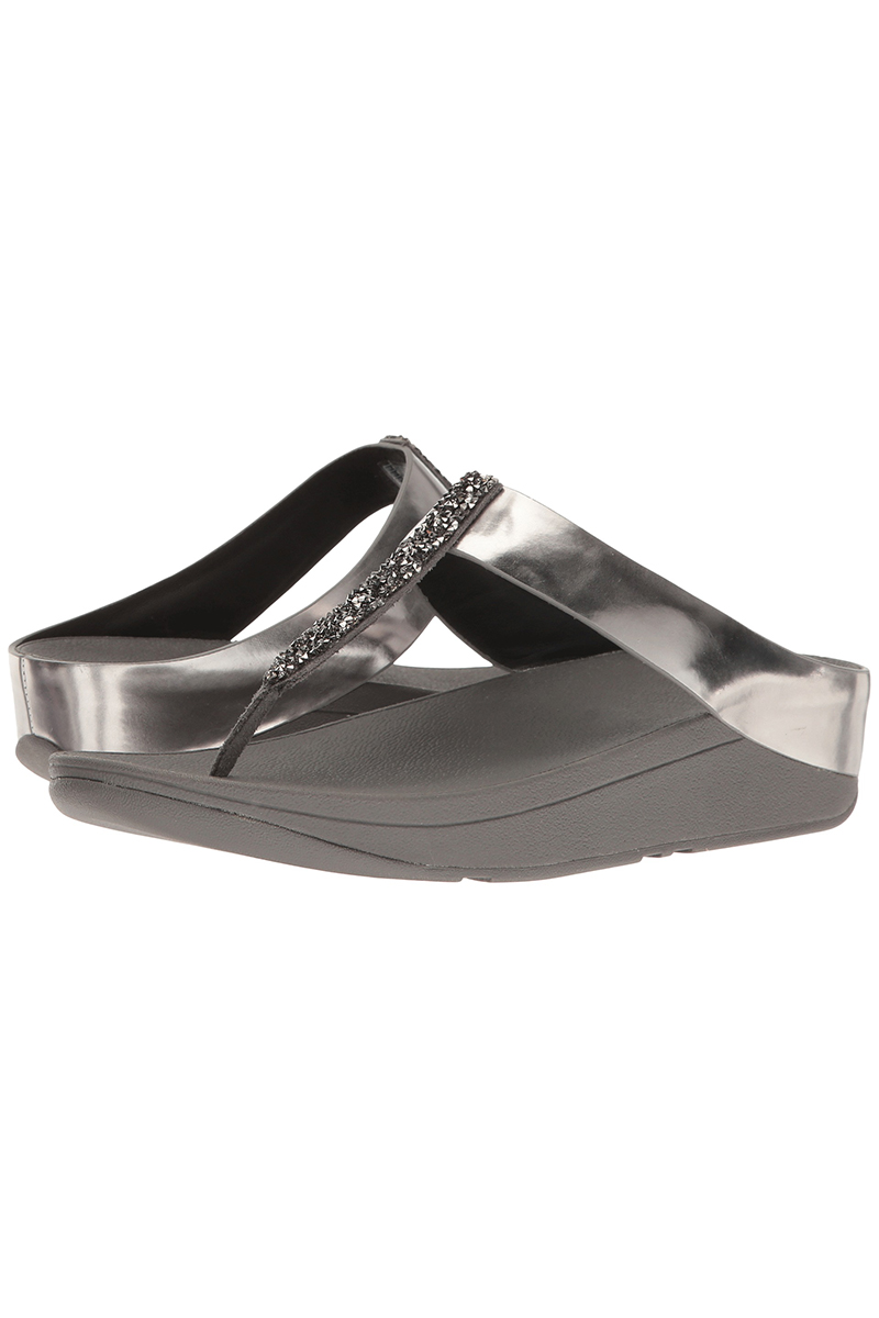 Fino Toe-Post in Pewter