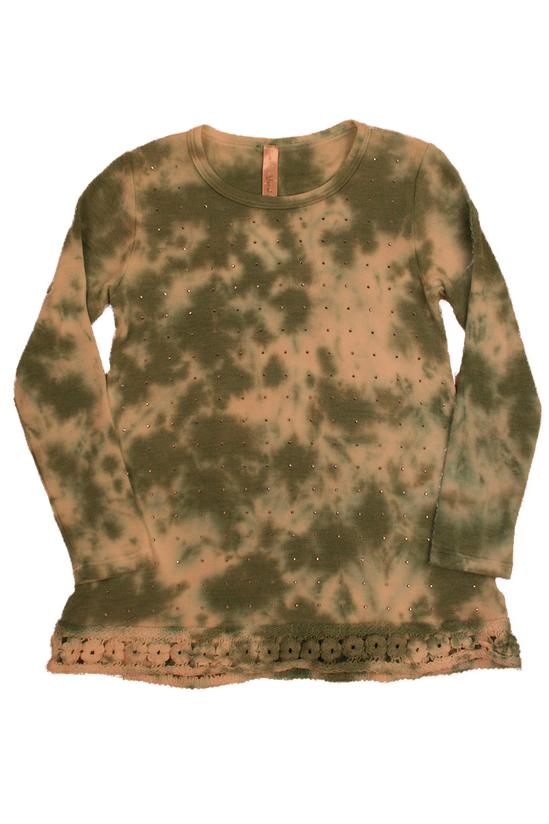 KIDS Long Sleeve with Print and Stone