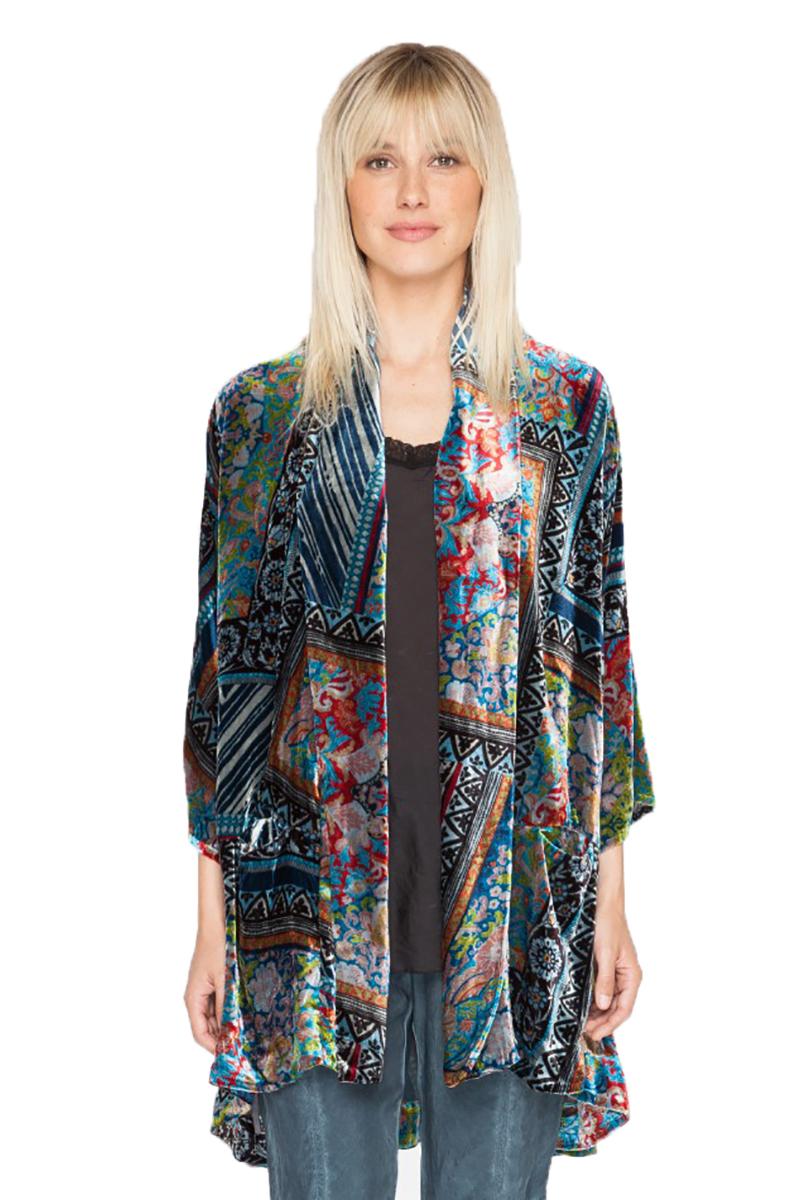 Frame Velvet Kimono