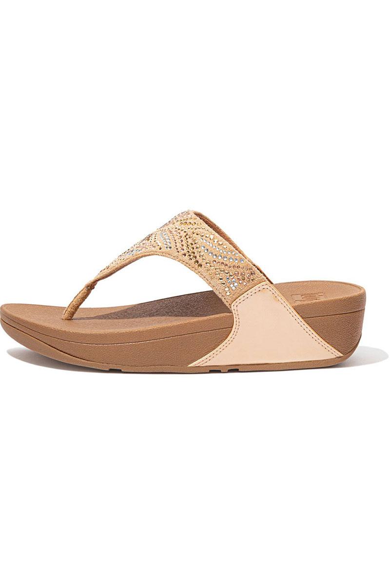 Lulu Crystal Feather Sandals