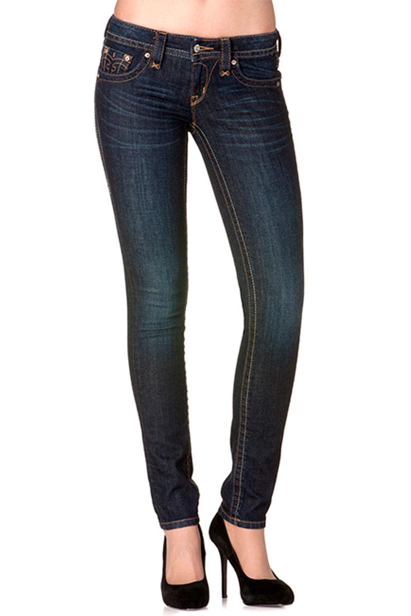 Womens Rock Revival Jessica S11 Skinny Jeans | eBay
