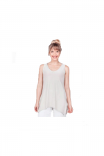 Sleeveless Go To Wide V Neck Tank