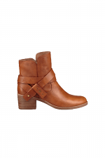 Elora Ankle Boot in Chestnut