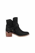 Elora Ankle Boot in Black