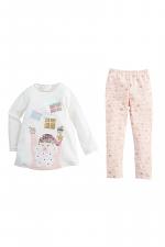 Glitter Santa Present Tunic & Legging Set