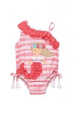 Tie-Dye Mermaid Ruffle Swimsuit