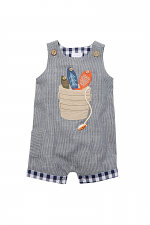 Fishing Bucket Chambray Shortall