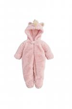 Pink Faux Fur Unicorn Bunting