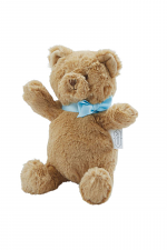 My First Plush Blue Brown Bear