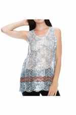 Tank Top With Submimation