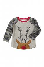 Reindeer Camo Christmas Tee