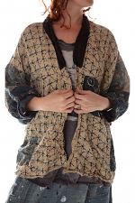 Cotton Linen Beatrix Short Kimono