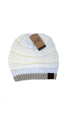 Two Tone Block Beanie
