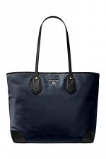 Eva Large Nylon Gabardine Tote Bag