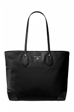 Eva Large Nylon Gabardine Tote Bag