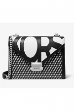 Whitney Large Graphic Logo Convertible Shoulder Bag