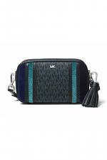 Small Tri-Color Leather Camera Bag
