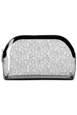 Clear Logo Travel Pouch