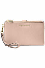 Adele Leather Smartphone Wristlet