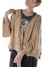 Cotton Silk Floral Embroidered Maeko Jacket