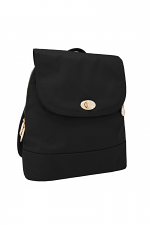 Anti-Theft Tailored Backpack in Black