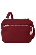 Anti-Theft Tailored E/W Organizer in Garnet