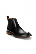 Kingsley Chelsea Boot in Black