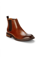 Kingsley Chelsea Boot in Chestnut