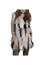 Piece Dyed Camouflage Fox Vest