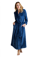 Serenity Robe in Dark Blue