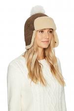 Pom Waterproof Sheepskin Hat
