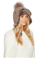 Pom Waterproof Sheepskin Hat
