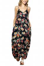Full-Length Harem Maxi Dress