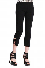 Crop Pant with Ladder Straps