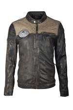 Gilby Leather Lambskin Jacket