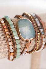 Kelly Wrap Bracelet Amazonite