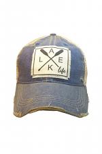 Lake Life Women's Distressed Trucker Cap