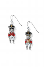 Nutcracker French Wire Earrings