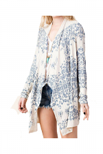 Long Sleeve Sublimation Cardigan