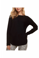 Back Lace-Up Detail Sweater
