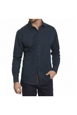 Cullen Sport Shirt in Dark Teal