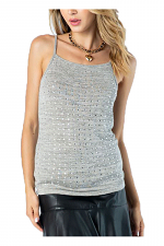 Camisole Top with Stones