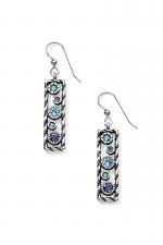 Halo Rhythm French Wire Earrings