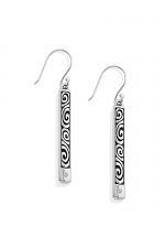 London Groove Bar Reversible French Wire Earrings
