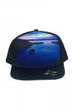 Emerald Bay Sunrise Mesh Back Hat