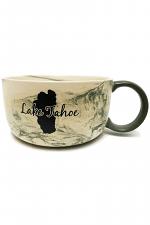 Soup Tureen Marble Lake Tahoe Mug